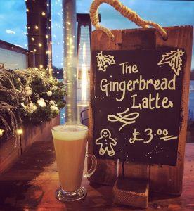 Berts Pizzeria gingerbread latte