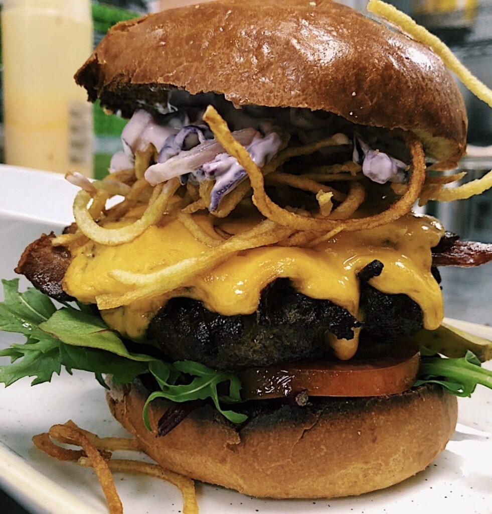 The Bert Burger!