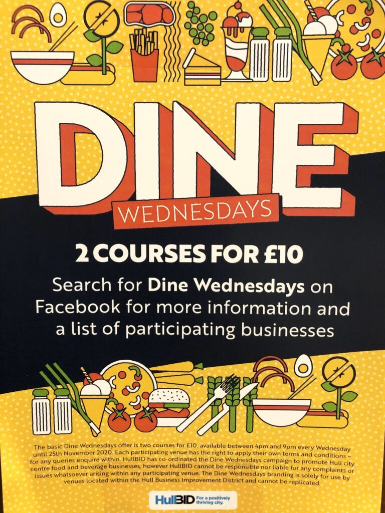 Dine Out Wednesday